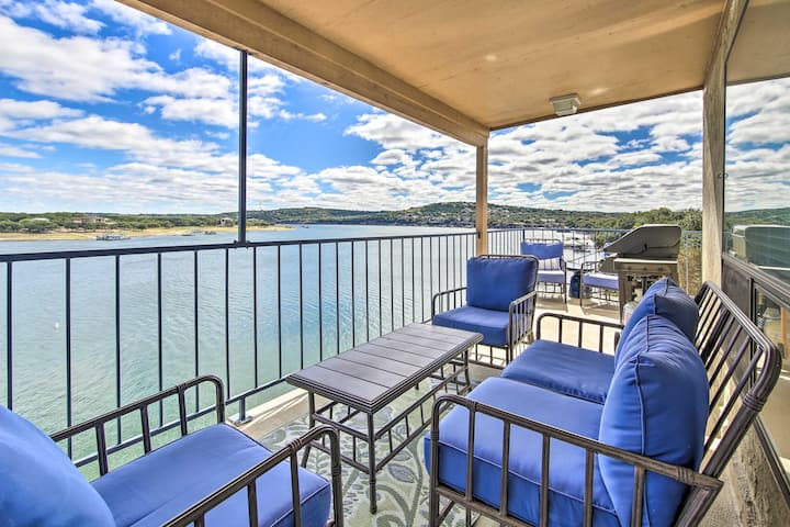 NEW! Lake Travis Condominium With Spectacular Views