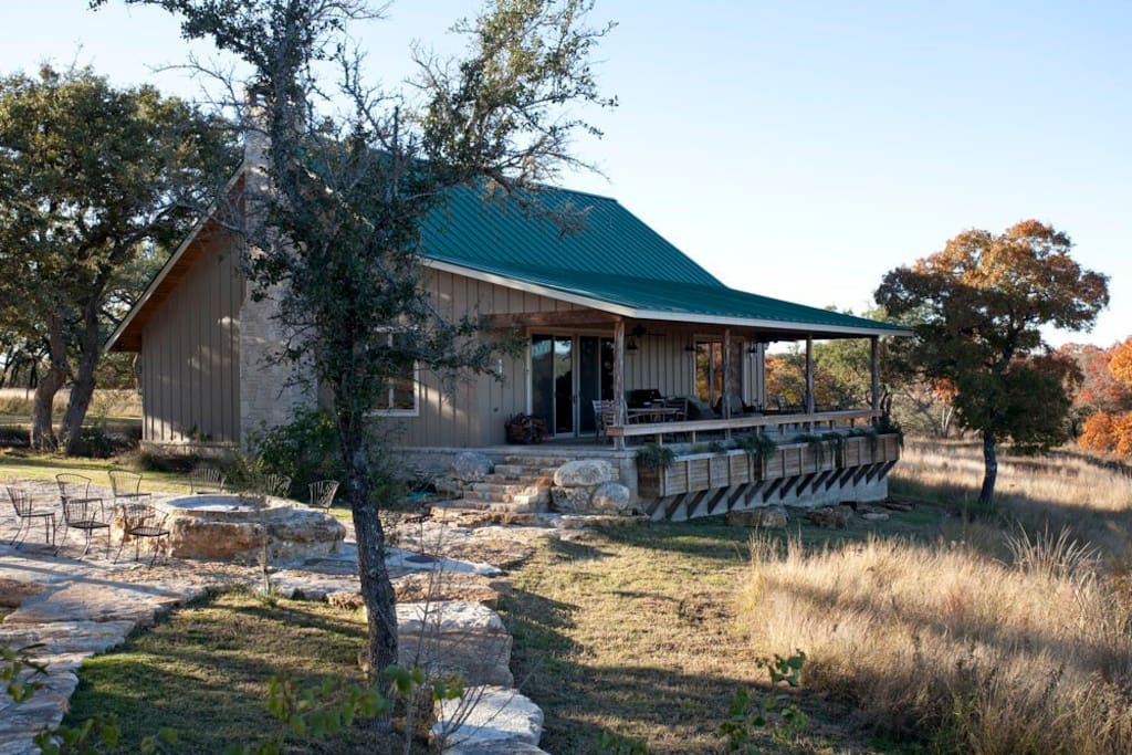 Back Porch with Incredible Hill Country Views