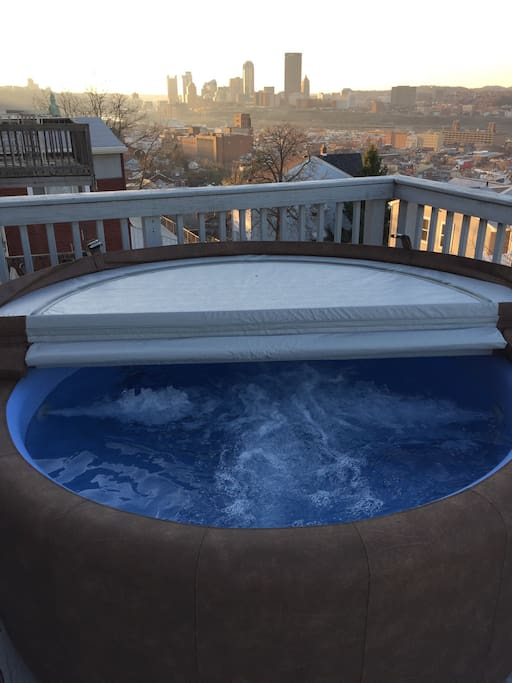 Top deck and Softub