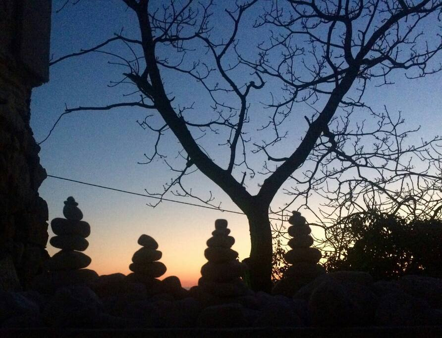 mistical sunset