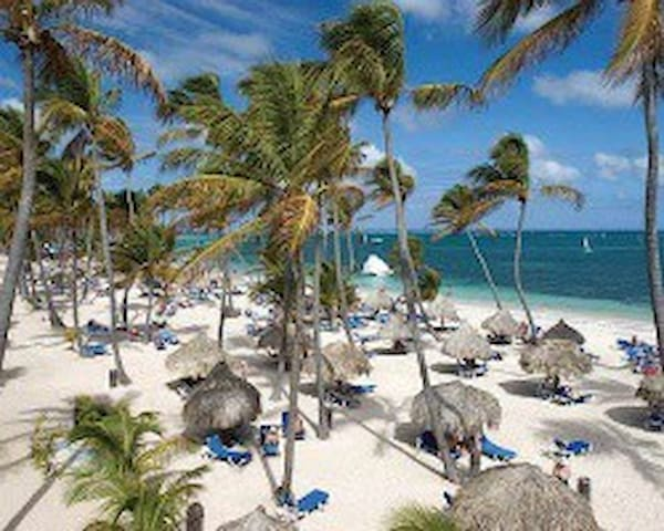 Ocean Front -Beach Resort near Punta Cana