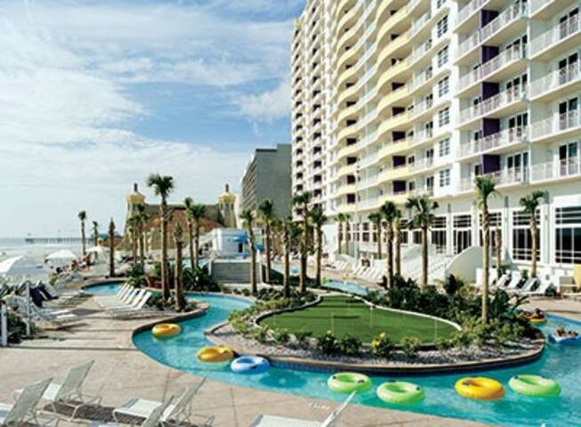 1 BDRM Suite Wyndham Ocean Walk Daytona Beach FL - Daytona Beach - Villa