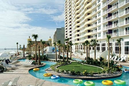 1 BDRM Suite Wyndham Ocean Walk Daytona Beach FL - Daytona Beach