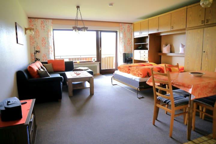 Haus Monika Ferienwohnungen, (Herrischried), Ferienwohnung Nr. 3, 62 qm, Balkon, 2 Schlafzimmer, max. 5 Personen