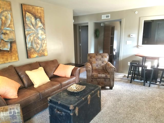 #101 Lofts-Upscale flat, downtown Clarksville