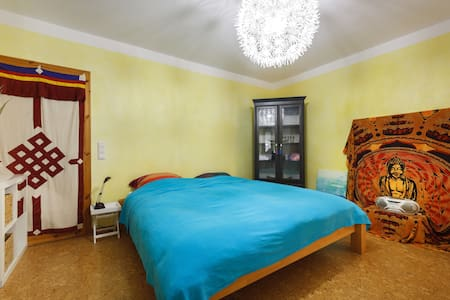 Quiet Room with Privacy - Mittelbrunn - Casa