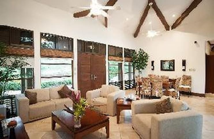 Living Area with view of Front Yard