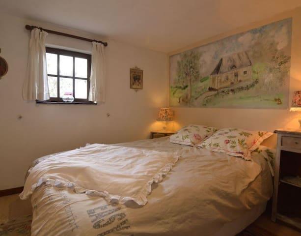 La chambre à coucher(fenêtre)