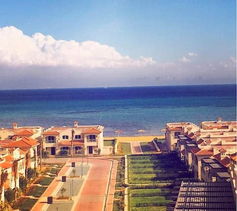 Sea view spacious chalet for rent in LA VISTA