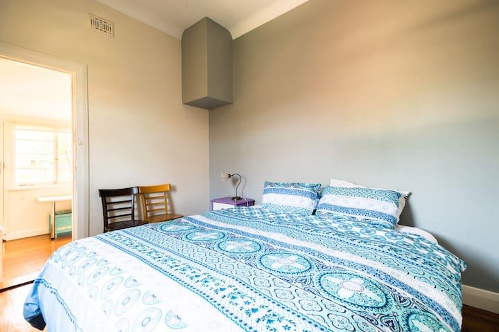 Bedroom 3. King Bed.