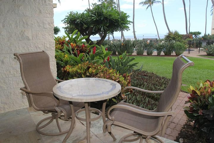 KAN114 - Gorgeous Ground-Floor Upgraded Lovely Oceanview Condo in Ma'alaea