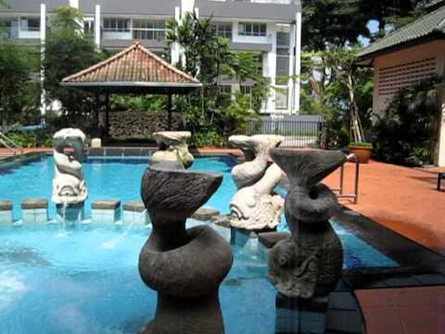 Pool facing spacious rm, Holland Rd - Singapore - Kondominium