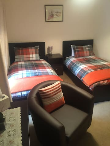 Glenfalloch farm B&B room 3 - Inverarnan - Penzion (B&B)