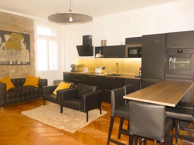 Lussuoso appartamento in centro a Gorizia.