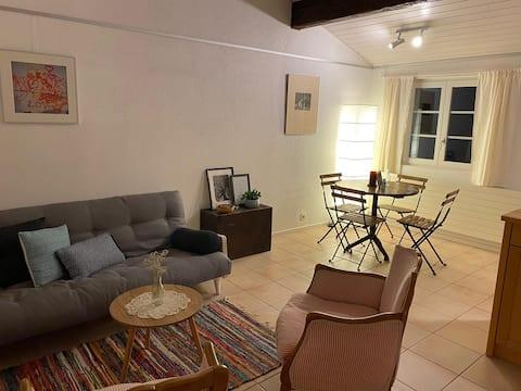 Joli studio dans charmant village proche de Morges