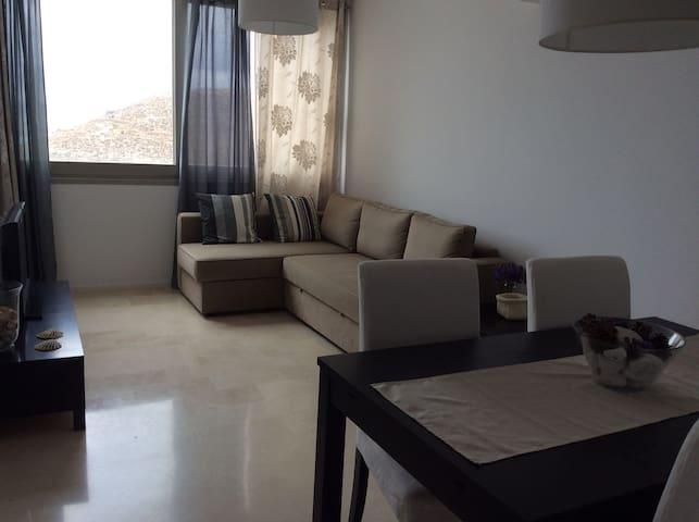 Apartamento con garaje, terraza y piscina - Carboneras - Apartment