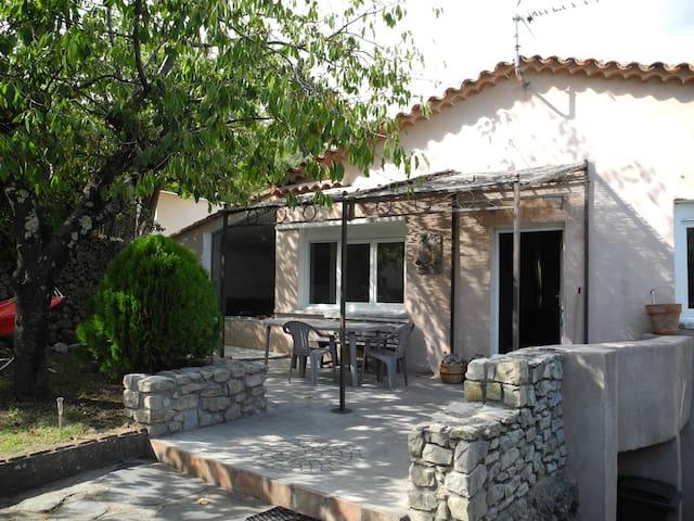 Agréable maison sur les hauteurs d'Anduze