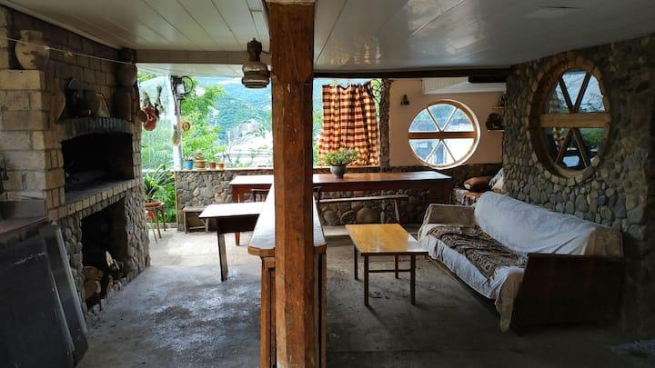 Armenian village house in Dilijan
