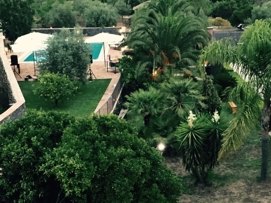 Splendido panorama alle pendici dell'Etna a 30 minuti da Taormina