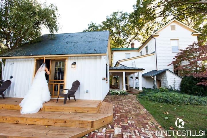 Private elegant farm cottage