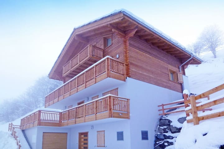 Super chalet built in 2013