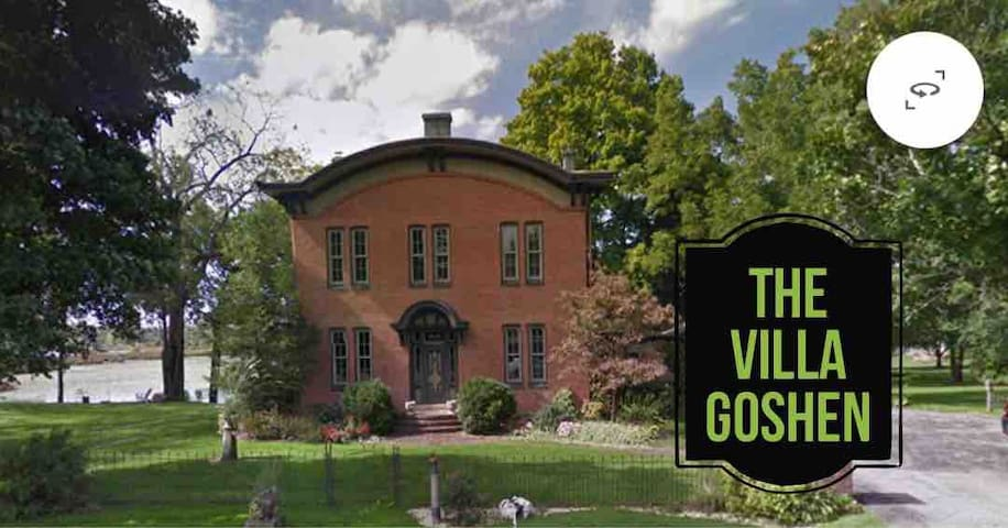 The Villa Goshen (Riverview Suite or All Upstairs)