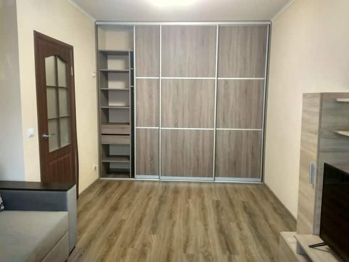 Excellent 1-bedroom apartments near Poznyaki metro