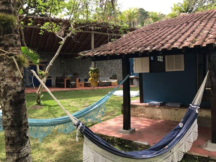 Casa de Praia-Ilhabela, 120mts Praia do Jabaquara