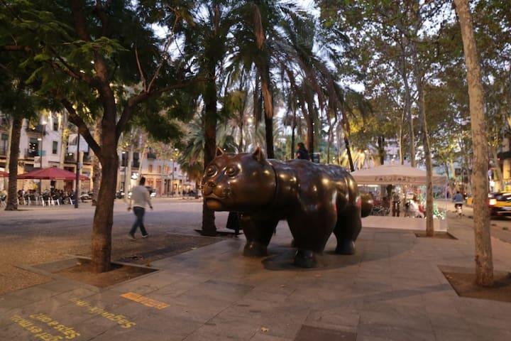 UbicaciónPerfectaPlaza CATALUÑA,LAS RAMBLAS,GOTICO