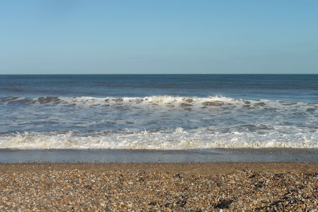 The beach at Dunwich