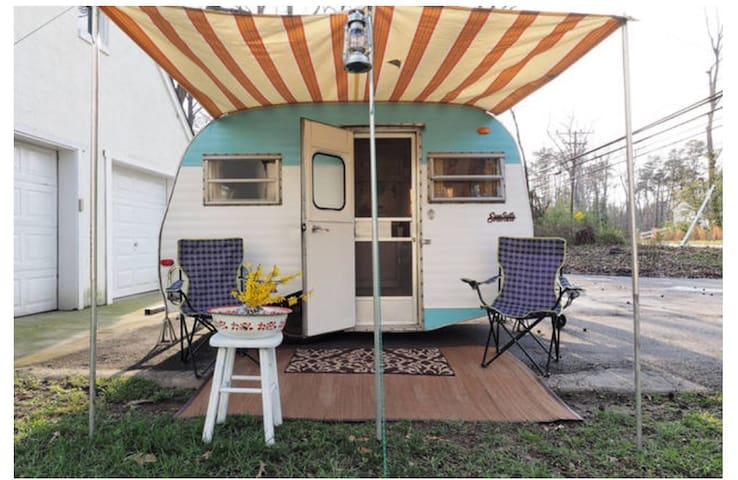 1972 Vintage Scotty Travel Trailer