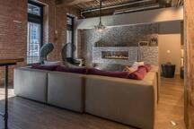 Art lofts lounge