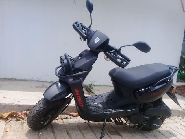moto incluida