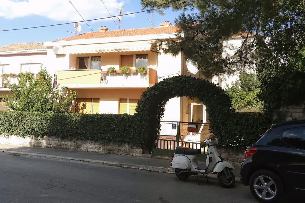 House entance