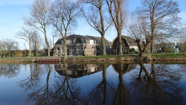 Beautiful apartment 'Geinzicht', near by Amsterdam