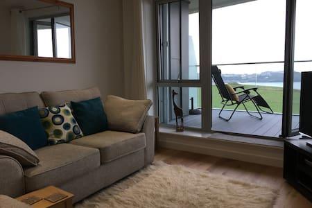 Stunning Sea View Apartment - Lusty Glaze - Newquay - Apartament