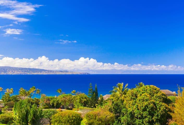Kapalua Ridge 511-13. Spacious villa offering one-of-a kind ocean, coastal, island AND golf views!