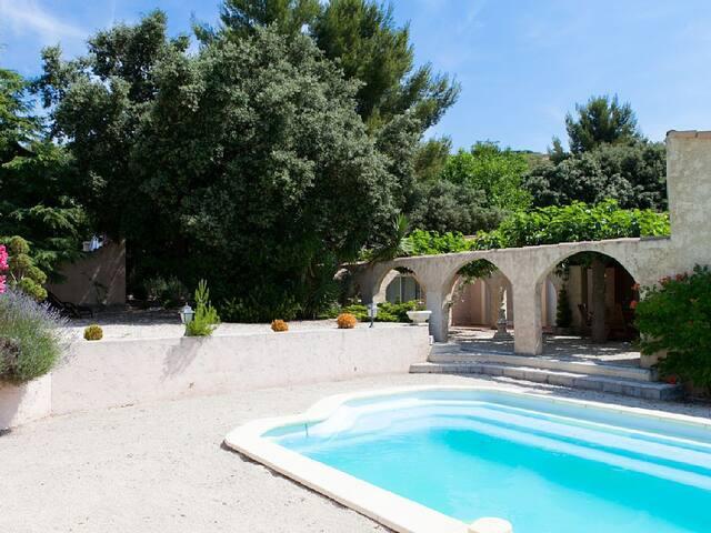 Charmante VILLA au Coeur de la PROVENCE piscine - Lançon-Provence - บ้าน