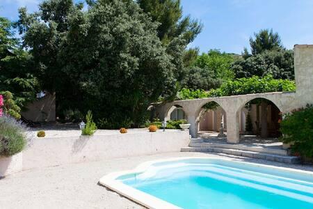 Charmante VILLA au Coeur de la PROVENCE piscine - Lançon-Provence - Rumah