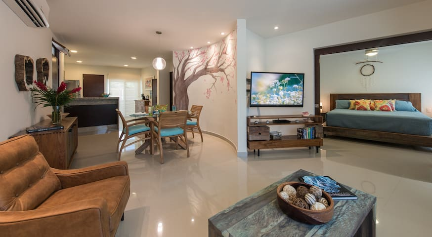 Great 2 Bedroom Condo in exclusive Aldea Zama - Tulum - Apartment
