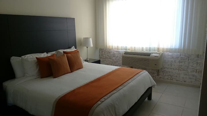 Apartamento de dos habitaciones con vista