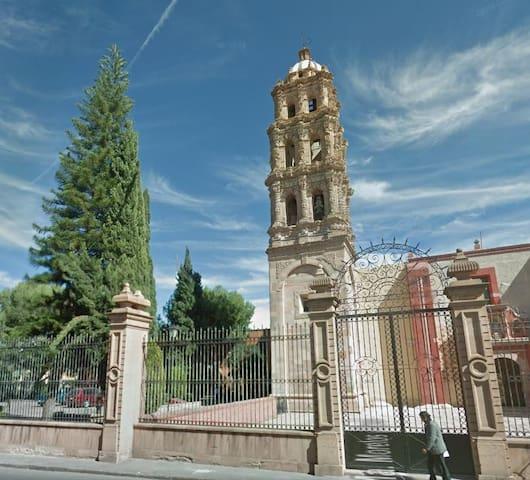 Comfortable y acogedor en el Centro Histórico - San Luis Potosí - Apartamento
