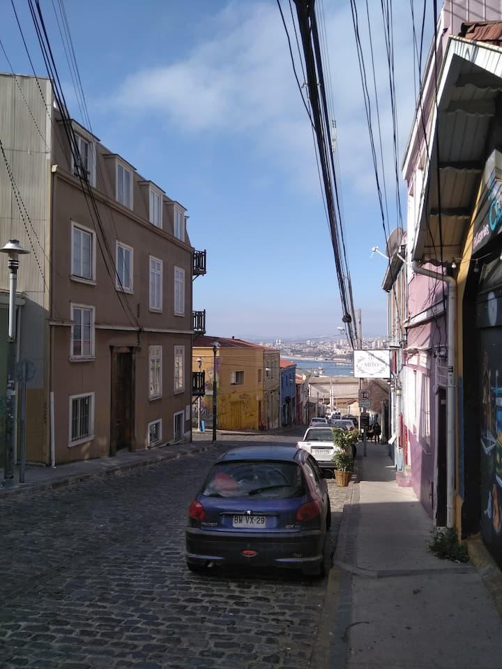 Casa Kuyen, Cerro Alegre, Valparaíso