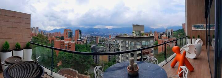 Energy Living, 8th floor view! Amazing location