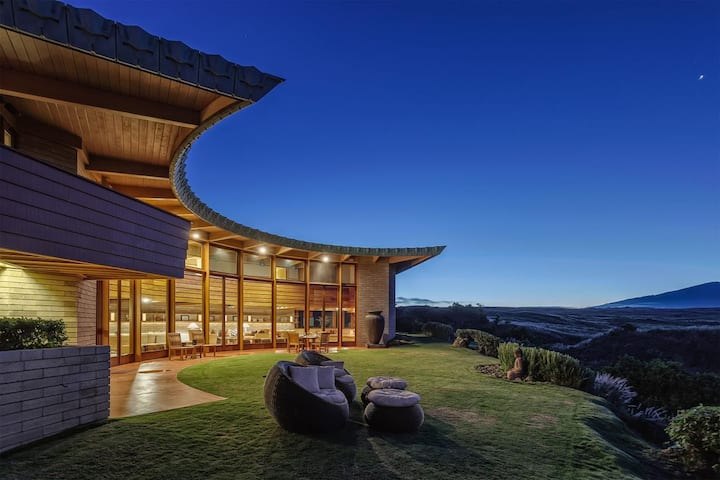 FLW - Hawaii's Only Frank Lloyd Wright Home - Serenity & Views!