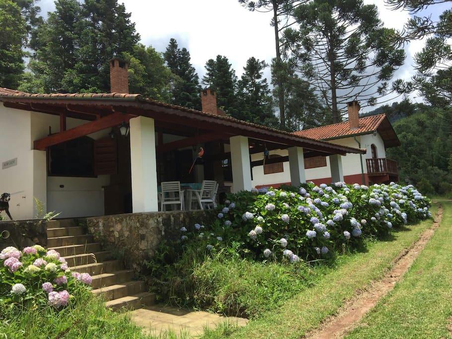 Guesthouse terrea avarandada