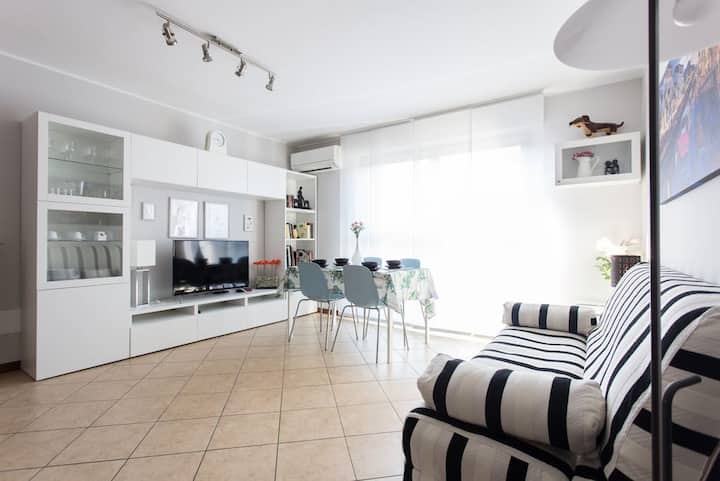 Bright and cosy apartment for 2
