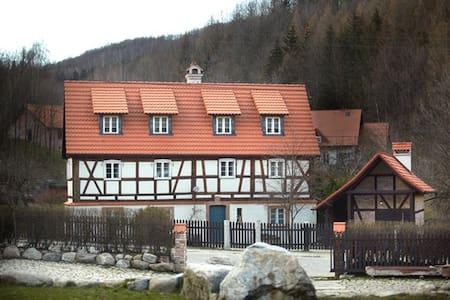 Dom Tkacza, apartament Pokój Sukien - Wohnung