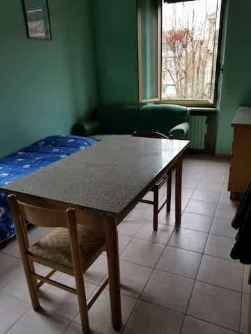 Single room in turin
