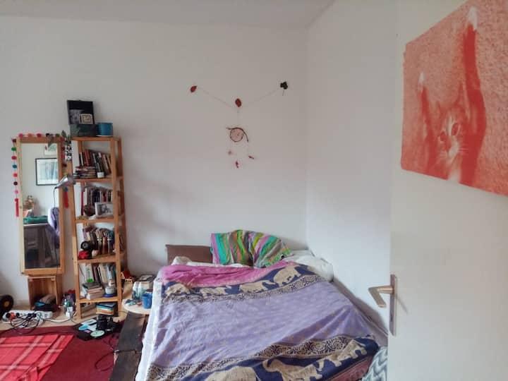 cozy and lighty room in Kreuzberg!